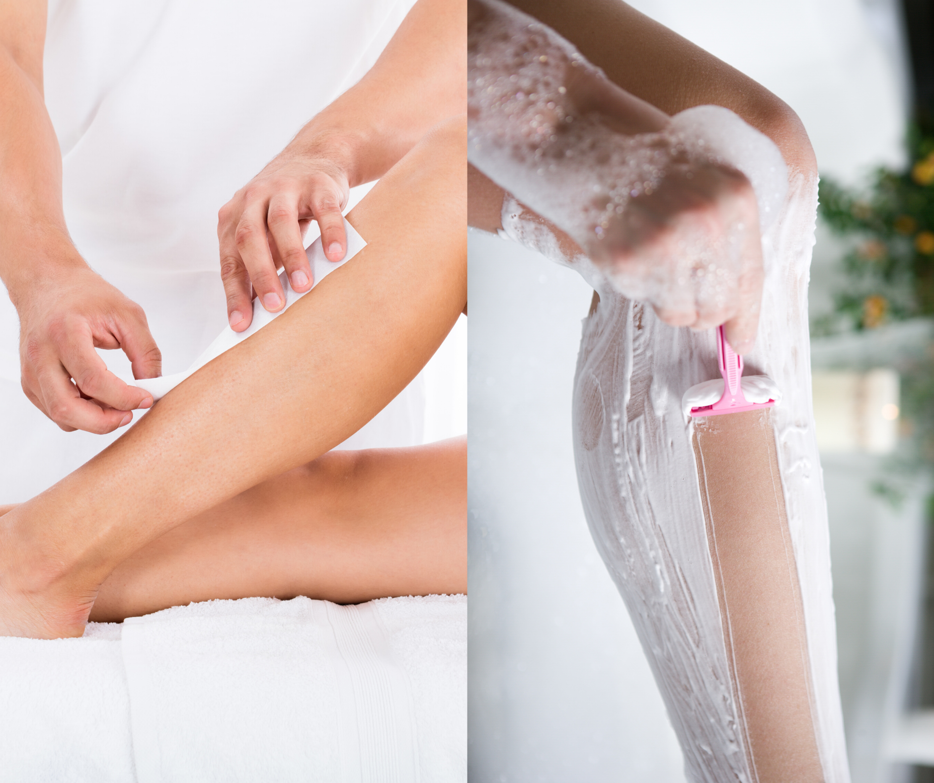 waxing vs shaving, mkp waxing salon